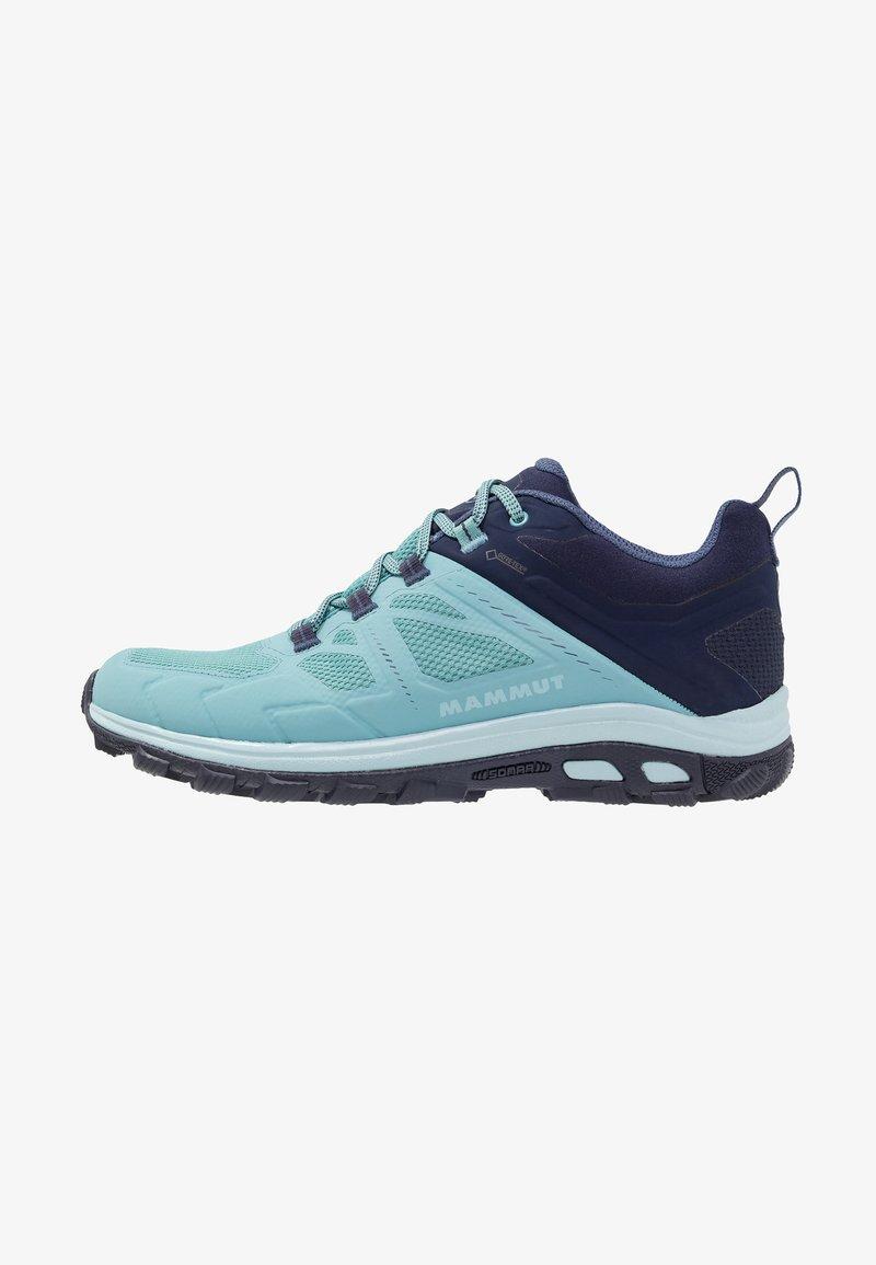 Mammut - OSURA LOW GTX WOMEN - Hiking shoes - waters