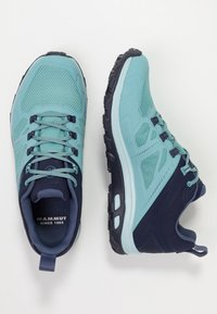 Mammut - OSURA LOW GTX WOMEN - Hiking shoes - waters - 1