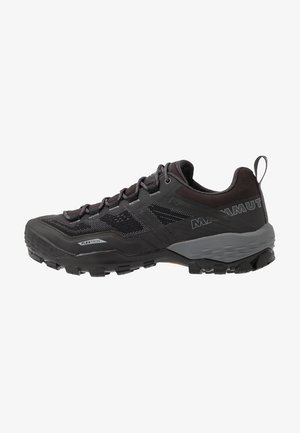 DUCAN LOW GTX WOMEN - Hiking shoes - black/titanium