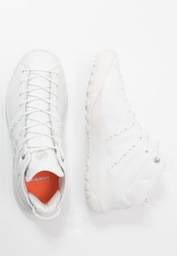 Mammut - HUECO ADVANCED MID WOMEN - Sports shoes - bright white - 1