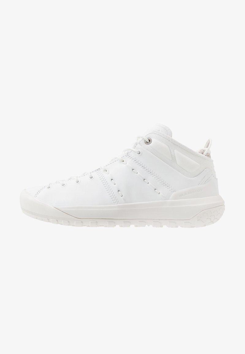 Mammut - HUECO ADVANCED MID WOMEN - Sports shoes - bright white