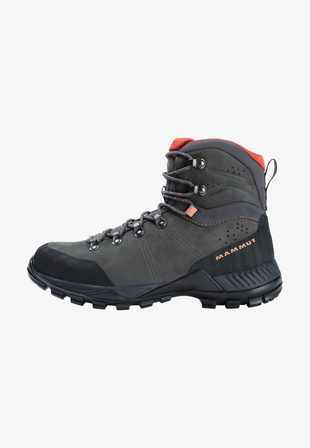Mountain shoes - graphite-baked