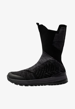 FALERA HIGH WP - Winter boots - black/titanium