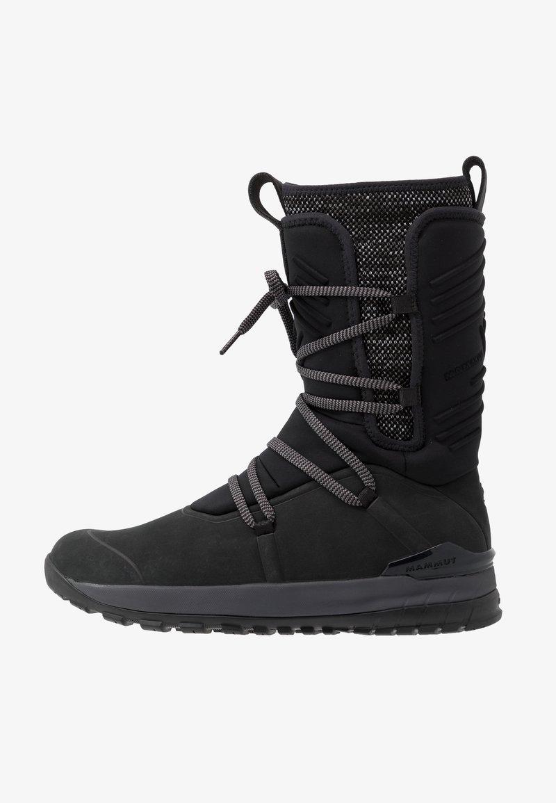 Mammut - FALERA PRO HIGH WP WOMEN - Hikingschuh - black/titanium