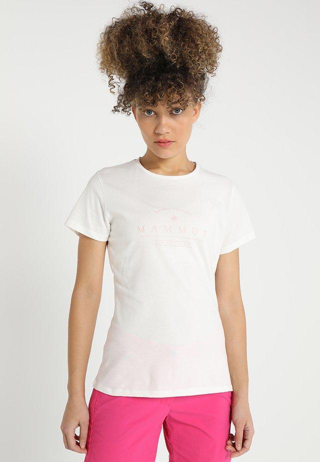 SEILE WOMEN - Print T-shirt - white