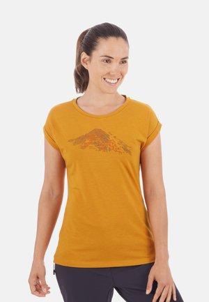 MOUNTAIN - T-Shirt print - golden