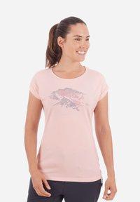 Mammut - MOUNTAIN - T-shirt imprimé - blush - 0