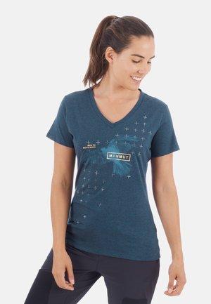 ZEPHIRA  - Print T-shirt - blue