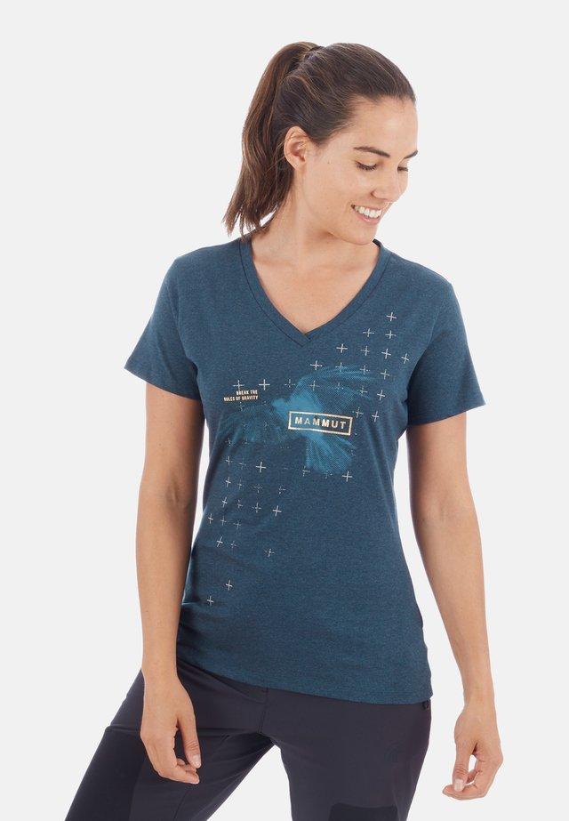 ZEPHIRA  - T-shirt print - blue