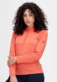 Mammut - AEGILITY  - Sports shirt - poinciana melange - 0