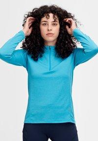 Mammut - AEGILITY  - Sports shirt - ocean melange - 0