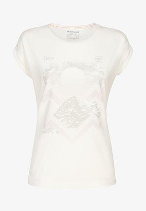 MOUNTAIN  - Print T-shirt - bright white