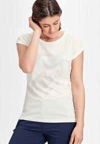 Mammut - MOUNTAIN  - Print T-shirt - bright white - 0