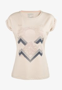 Mammut - MOUNTAIN  - T-shirt z nadrukiem - moonbeam - 3