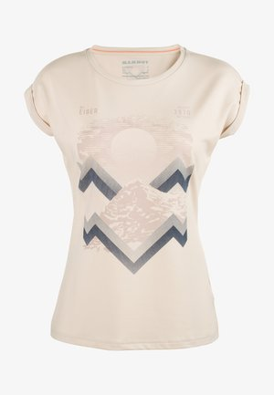 MOUNTAIN  - T-shirt print - moonbeam