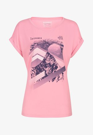 MOUNTAIN  - Print T-shirt - orchid