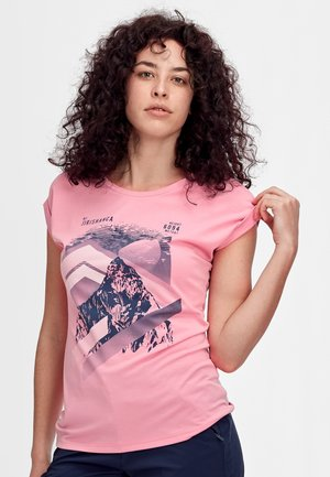 MOUNTAIN  - T-Shirt print - orchid