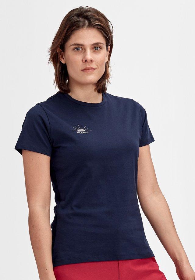 SEILE - Print T-shirt - peacoat