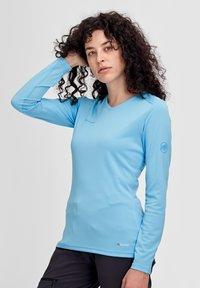 Mammut - LONGSLEEVE - Long sleeved top - blue - 0