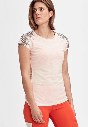 Print T-shirt - moonbeam melange