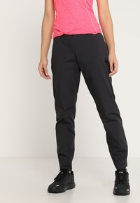 Mammut - ALNASCA PANTS WOMEN - Outdoorbroeken - black - 0