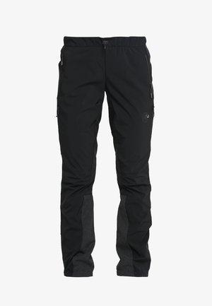 BOTNICA PANTS WOMEN - Outdoor trousers - black/black