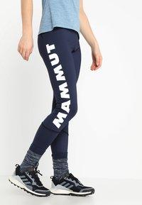 Mammut - SERTIG WOMEN - Leggings - peacoat - 0