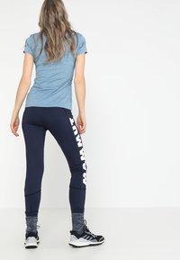 Mammut - SERTIG WOMEN - Leggings - peacoat - 2
