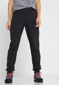 Mammut - CRASHIANO PANTS WOMEN - Outdoorbroeken - black - 0