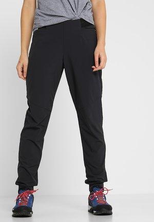 CRASHIANO PANTS WOMEN - Outdoorbroeken - black