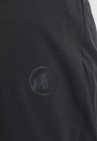 Mammut - CRASHIANO PANTS WOMEN - Outdoorbroeken - black - 4