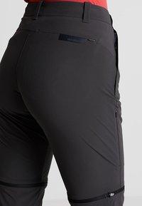 Mammut - RUNBOLD - Outdoor trousers - phantom - 4
