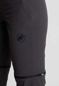 Mammut - RUNBOLD - Outdoor trousers - phantom - 7