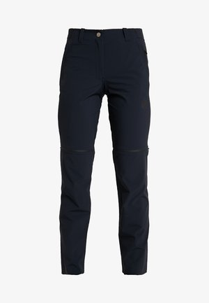 RUNBOLD ZIP OFF PANTS WOMEN - Stoffhose - black
