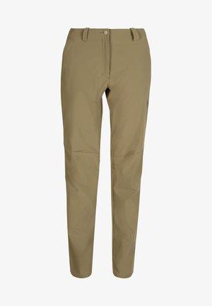 RUNBOLD PANTS WOMEN - Długie spodnie trekkingowe - olive
