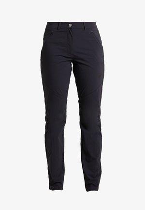 HIKING PANTS WOMEN - Trousers - black