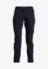 Mammut - ZINAL PANTS WOMEN - Długie spodnie trekkingowe - black - 6