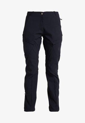 ZINAL PANTS WOMEN - Długie spodnie trekkingowe - black