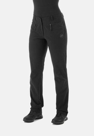 MACUN - Spodnie materiałowe - black