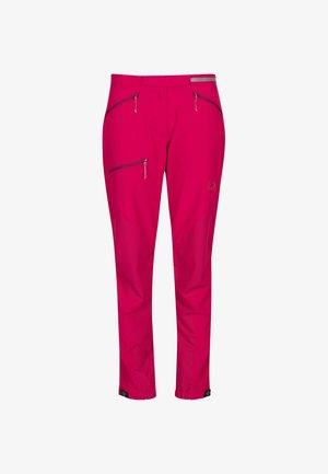 COURMAYEUR - Długie spodnie trekkingowe - pink