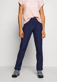 Mammut - MASSONE  - Outdoor trousers - peacoat - 0