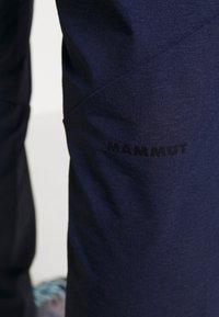 Mammut - MASSONE  - Outdoor trousers - peacoat - 4
