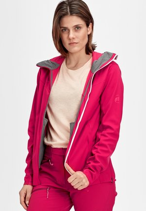 ULTIMATE - Veste softshell - sundown melange