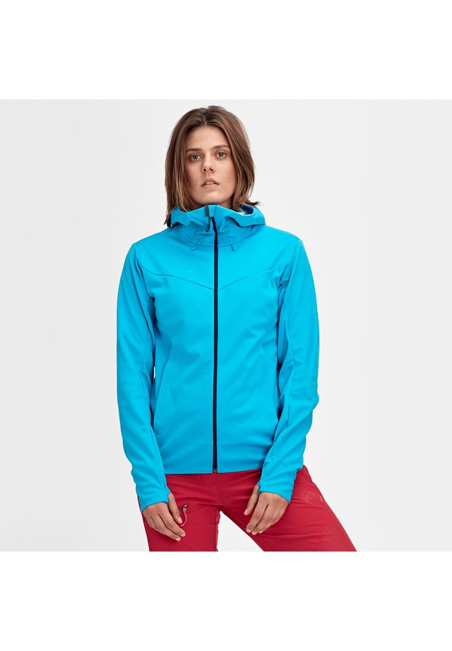 ULTIMATE - Kurtka Softshell - ocean-whisper melange
