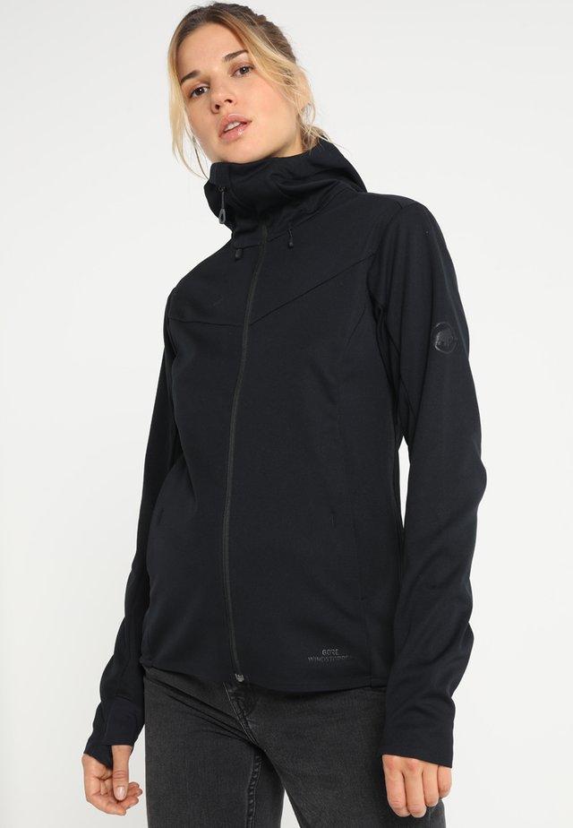 ULTIMATE - Soft shell jacket - black/black