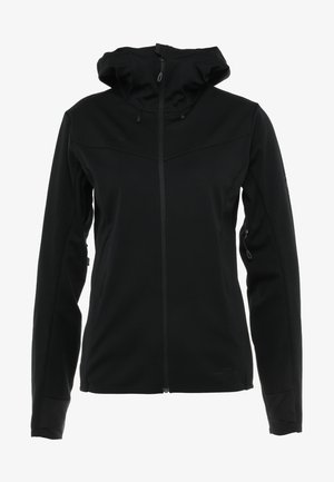 ULTIMATE - Softshelljacke - black/black