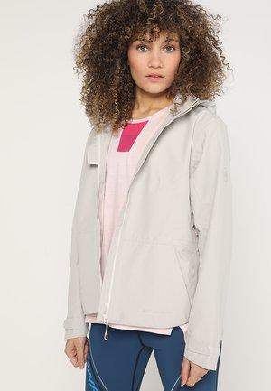 TROVAT HOODED JACKET WOMEN - Waterproof jacket - linen