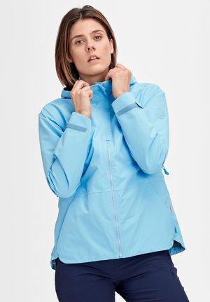 TROVAT HOODED JACKET WOMEN - Waterproof jacket - whisper