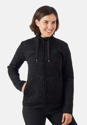 CHAMUERA - Fleecejacke - black