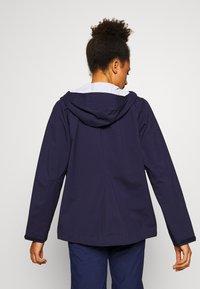 Mammut - ALBULA HOODED JACKET WOMEN - Hardshell jacket - marine - 2